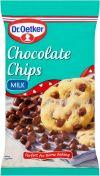 Mleczna czekolada chips