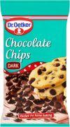 Czarna Gorzka czekolada chips