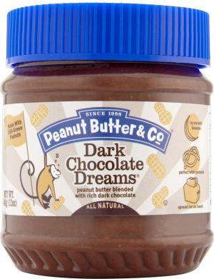 Masło orzechowe z czarna czekoladą