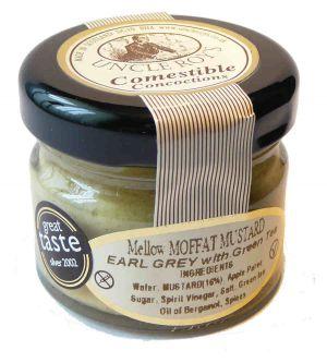 Musztarda earl grey z zielona herbatą