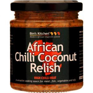 African Chilli Coconut Relish przyprawa afrykańska
