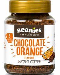 Beanies Kawa rozpuszczalna Chocolate Orange smakowa aromatyzowana Czekolada Pomarańcz