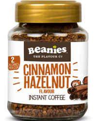 Beanies Kawa rozpuszczalna Cinnamon & Hazelnut smakowa aromatyzowana cynamon z orzechami