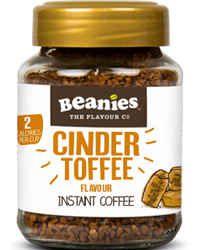 Beanies Kawa rozpuszczalna Cinder Toffee smakowa aromatyzowana Toffii