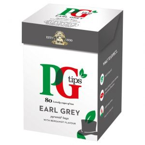 PG tips earl grey 80s