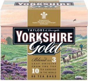 Yorkshire Gold 80s Czarna Herbata z Anglii ekspresowa GB86