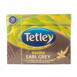 Tetley Earl Grey z Wanilią