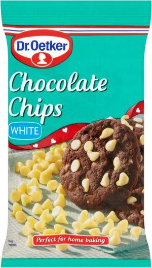 Biała czekolada chips