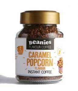 Beanies Kawa rozpuszczalna aromatyzowana karmelowy popcorn