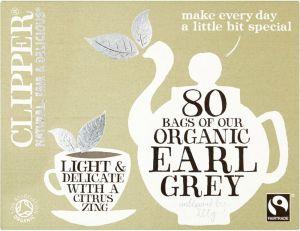 Clipper Earl Grey Organic 80s